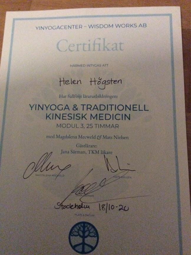 Traditionell kinesisk medicin och YinYoga